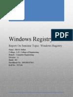 Windows Registry (2)