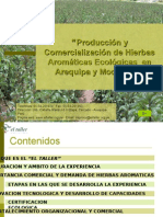Producción y Comercialización de Hierbas Aromáticas Ecológicas - Dieter Clower