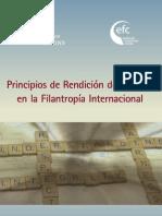 Principios de Rendición de Cuentas en la Filantropía Internacional