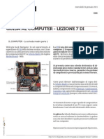 Guida al Computer - Lezione 7