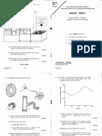 1990 Biology Paper1
