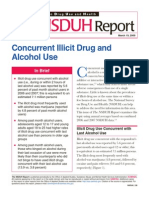 Concurrent Illicit Drug and Alcohol Use
