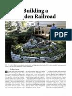 Building a Garden Railroad