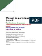 Manual de participación juvenil