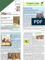 """Publicação Diocesana - """"Vinde e Vede"""" - N.º 8"""