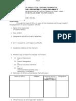 gpf final payment application