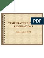 temperature pulse respiration