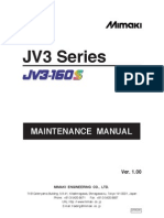 JV3-160S Maintenance Manual D500200 V1.00