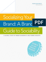 A Brand's Guide to Sociability