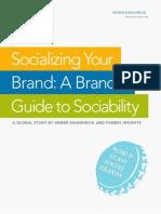 A Brand's Guide to Sociability