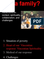 Vincentian Family Context, Collaboration, Challenges