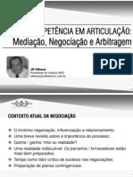Articulação, Mediação, Negociação e Arbitragem - JBV