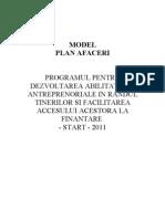 Plan de Afaceri Start2011