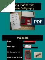 Caligrafia Chinese Intro