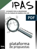 Plataforma LUPAS 2011