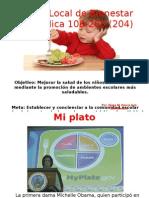 Mi Plato - Piramide Alimentaria