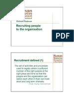 W2 S1 C Recruitment