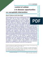 Senescence in Disease