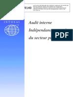 Intosai L'audit interne dans le secteur public
