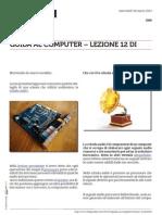 Guida al Computer - Lezione 12