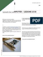 Guida al Computer - Lezione 13