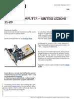 Guida al Computer - Sintesi Lezioni 11-20