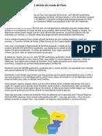 A divisão do estado do Pará