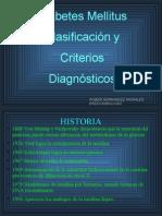 Clasificacion y Criterios Diagnosticos