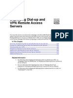 Deploying Dial-Up and VPN Remote Access Servers