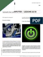 Guida al Computer - Lezione 22