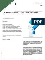 Guida al Computer - Lezione 26