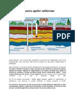 Poluarea apelor subterane