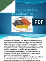 Marea Unire de La 1 Dec Em Brie 1918