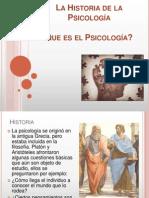 La Historia de La Psicologa