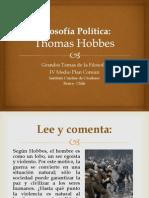 FILOSOFÍA POLÍTICA - THOMAS HOBBES