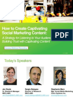 How to Create Captivating Social Mktg Content - Virtual Workshop