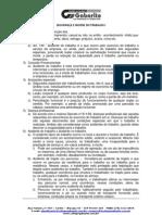 Manual de SEGURANÇA E HIGIENE DO TRABALHO