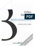 Deleuze, Gilles - Bergsonismo