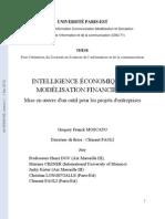 intelligence économique et modélisation financier