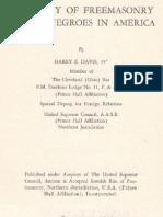 Davis - History of Freemasonry Among Negroes in America Raw