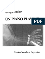 Piano Playing-Motion Sound and Expression by Gyorgy Sandor