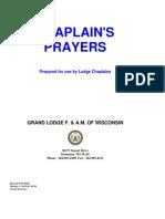 GL Wisconsin - Chaplain Prayers