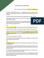 RESEÑA HISTORICA DE ALGUNAS FIBRAS