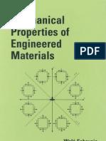 Mechanical Properties of Engineered Materials Mechanical Engineering