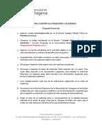 PasosyDocumentosparalaMatriculaFinancierayAcademicaPREPRES[1]