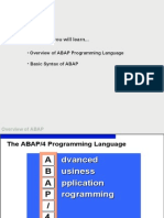 01 ABAP Overview