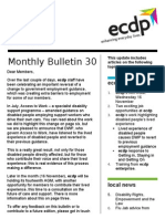 ecdp email bulletin 30