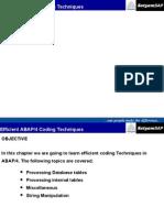 24-Efficient ABAP Coding
