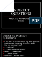 Indirect Questions 1