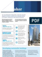 Ropemaker Place Sustainability